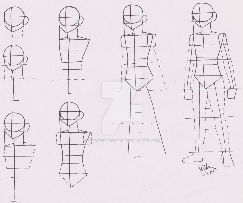 Tutorial Male Body Manga 02 By FutagoFude 2insROID