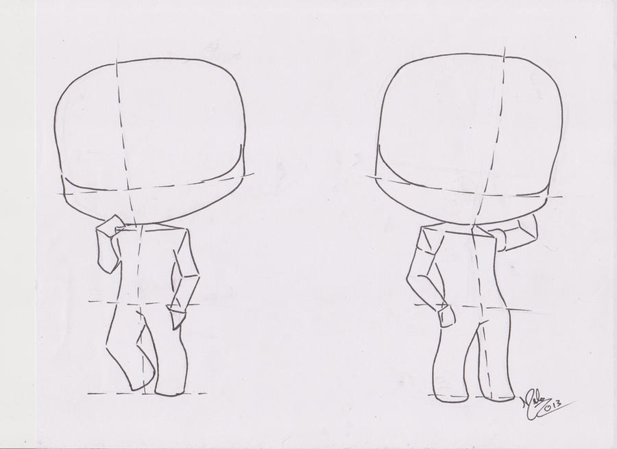 Chibi Manga Tutorial: Male Pose 02 by FutagoFude-2insROID ...