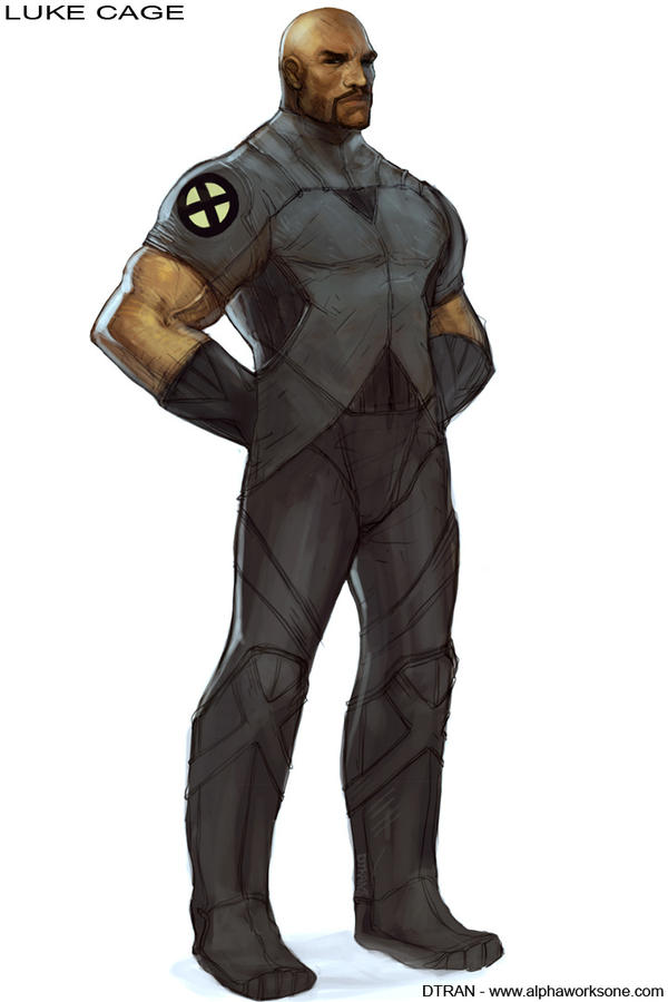 X-Men : ND - Luke Cage by dtran