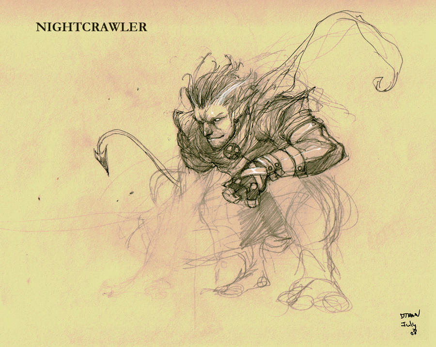 old works - NightCrawler by dtran
