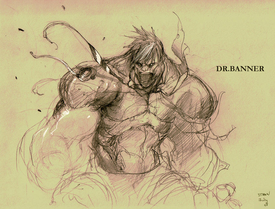 old work - hulk by dtran