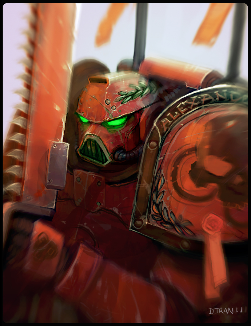 Space Marine by dtran
