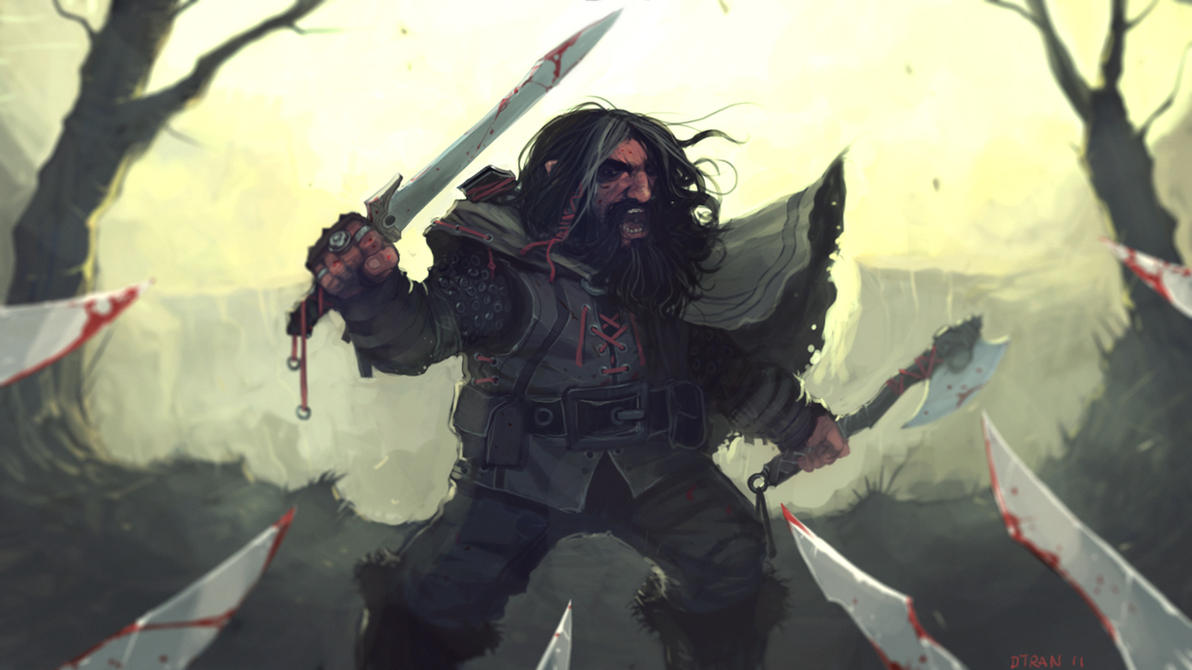 Thorin Oakenshield FINAL by dtran