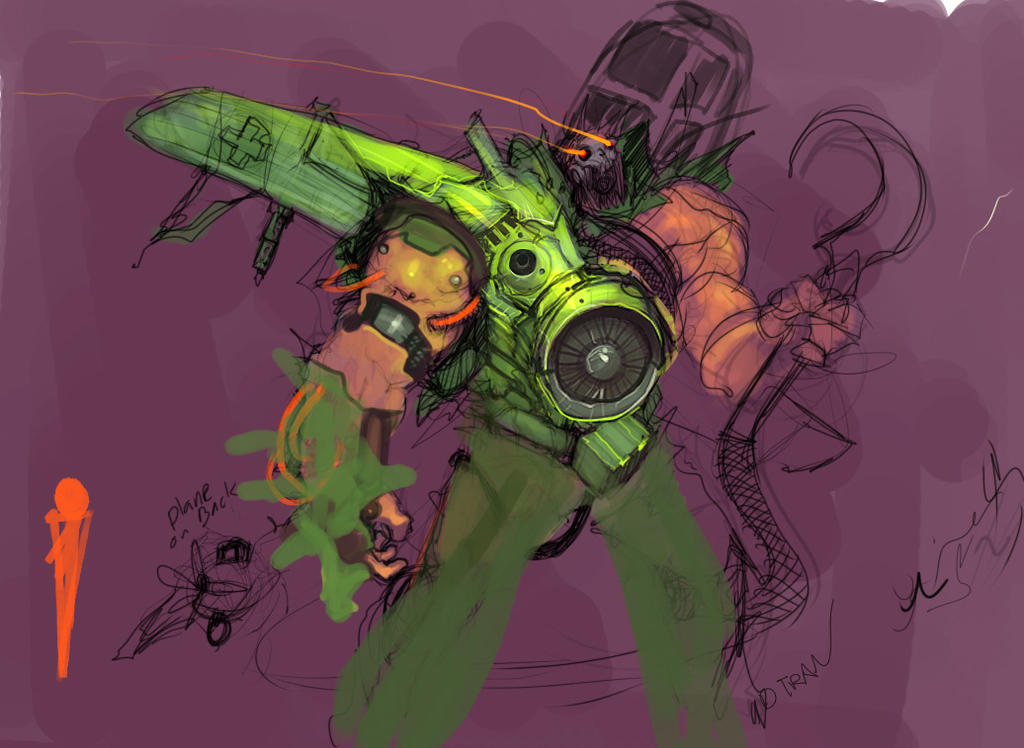Junk painting by dtran