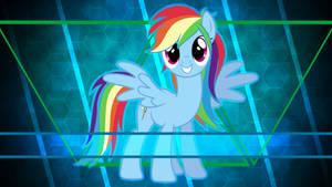 Rainbow Dash always brushes in style