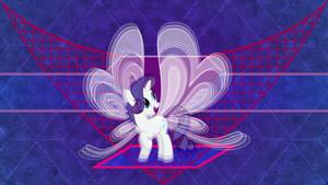 Rarity's new wings