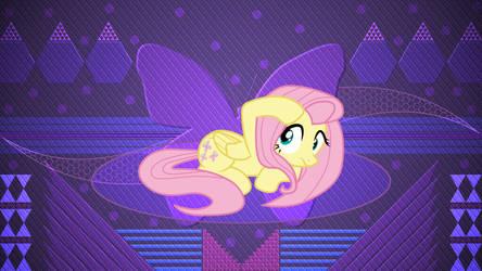 Fluttershy being shy