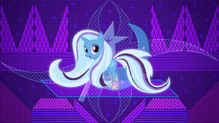 The Great and More Powerful Trixie by LaszlVFX