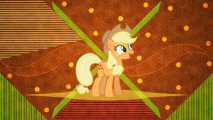 Uplifted Apple Pony by LaszlVFX