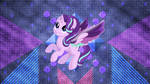 Glimmering wings