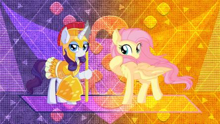 Flutter Princess and Knight Rarity