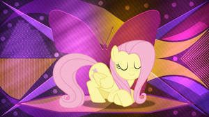 Bowing FlutterShy