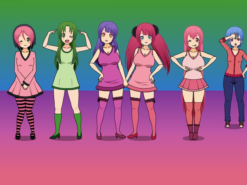 Yandere Simulator Background Girls Casual By Madythebasicartist On