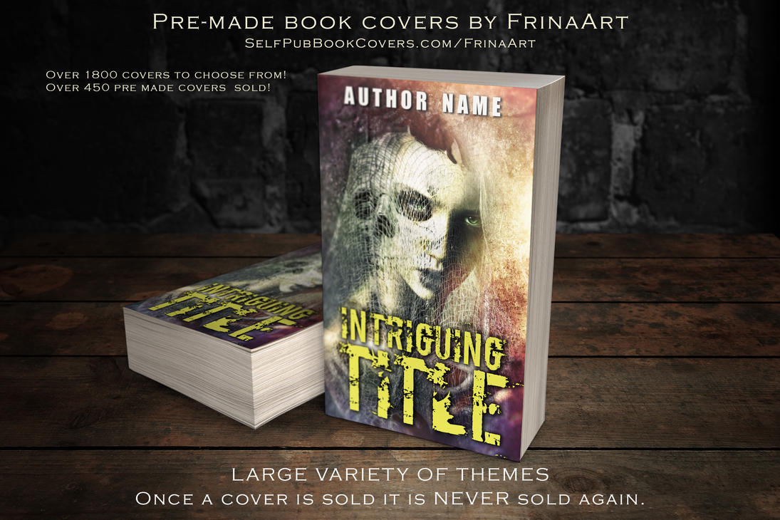 Premade Book Cover Art : Pre made book cover by frinaart on deviantart