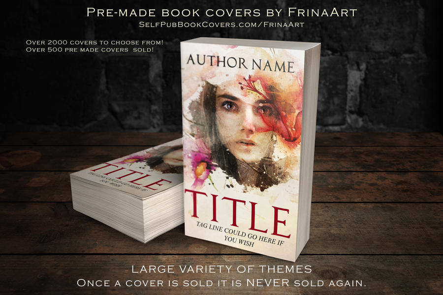 Premade Book Cover Art : Pre made book covers by frinaart on deviantart