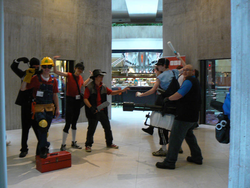 ACen 2009: Team Fortress 2 by steam-marc