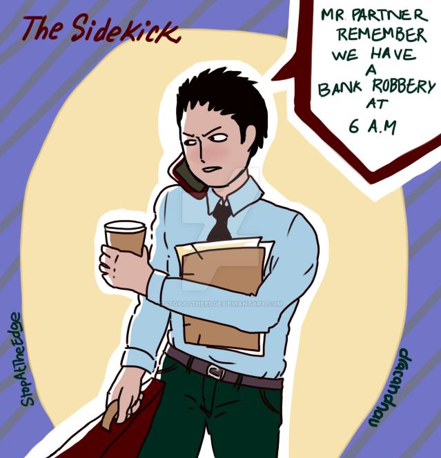 Oc Sidekick by StopAtTheEdge