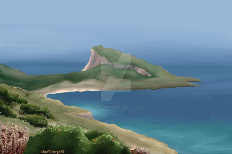 Green Coast by StopAtTheEdge