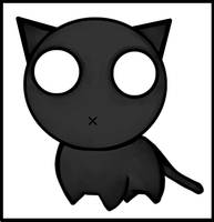 random cat by JRosado