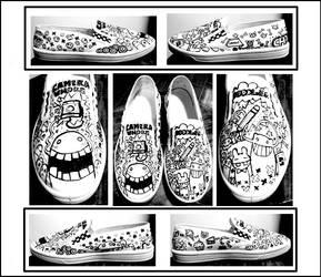 Shoe Doodling