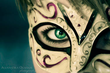 Venetian Mask by ACGraham