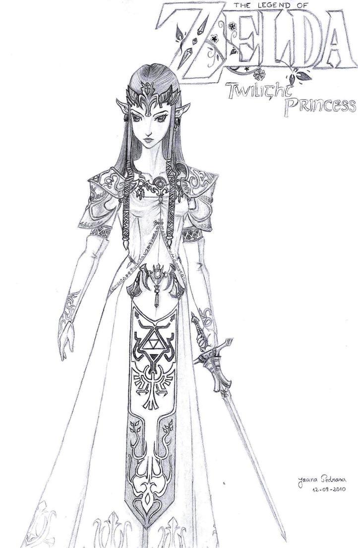 Princess Zelda by TheJoanaPADJ