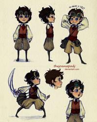 Vee - Character Sheet by TheJoanaPADJ