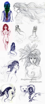 Sketchdump #4 by TheJoanaPADJ