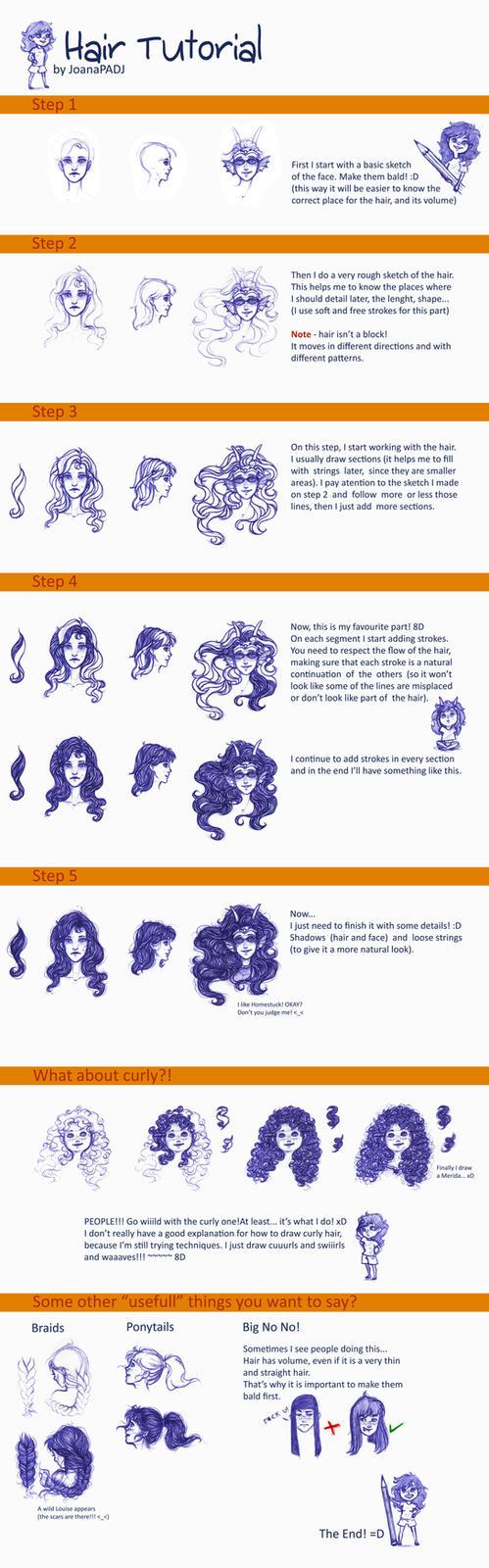 Hair Tutorial by TheJoanaPADJ