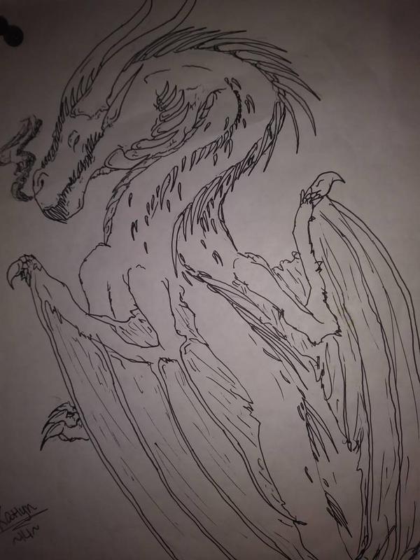 dragon by Katscales86