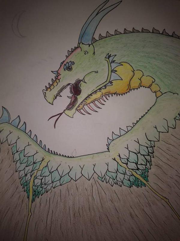Green Dragon by Katscales86