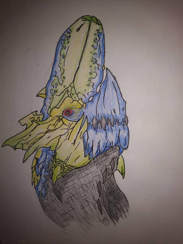 Brachydios (Monster Hunter) by Katscales86