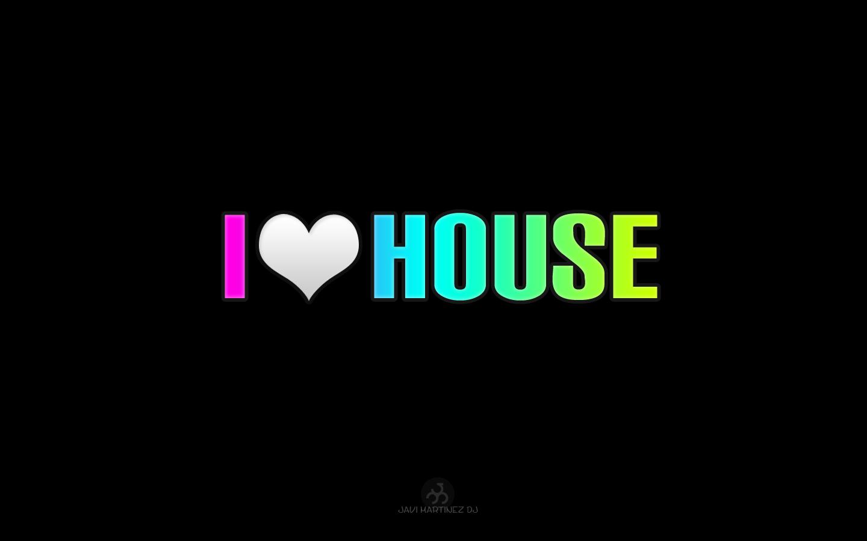 I love house by nizart on deviantart for House music 2009