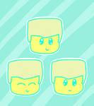 Chibi Zane Stickers