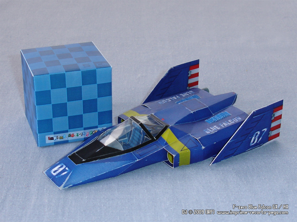 F-Zero GX Blue Falcon by Dil1880