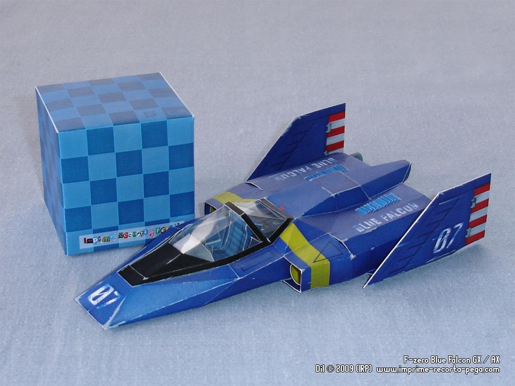 F-Zero GX Blue Falcon by Dil1880