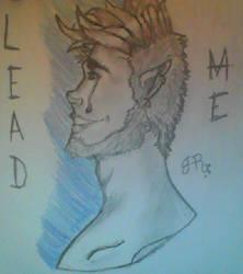 Lead my cinnamonroll pls [OC Drawing] by QuirkyBaconroni