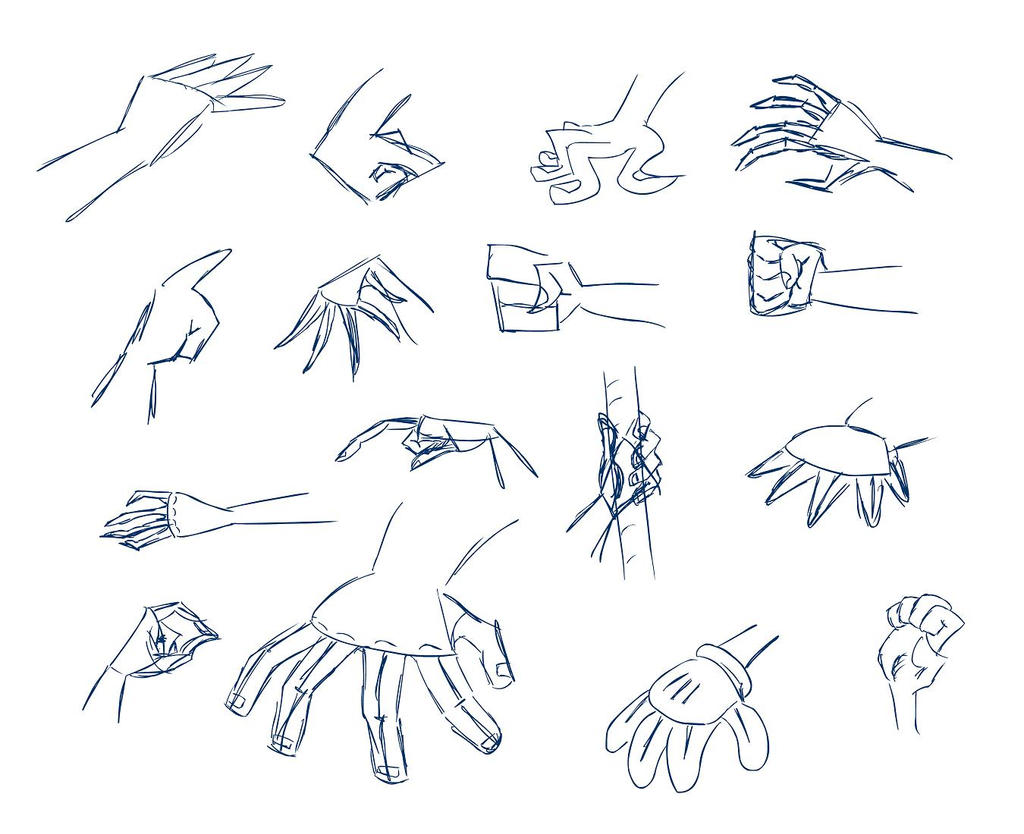 Cartoon Cartoon Hands