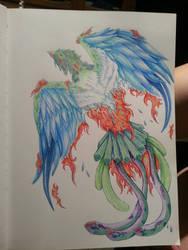 Phoenix  by TheRaptor-Wolfy