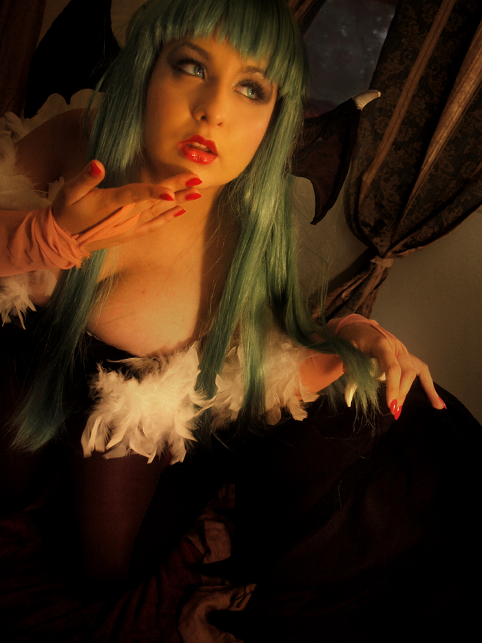 Morrigan Aensland VII by CookieKabuki