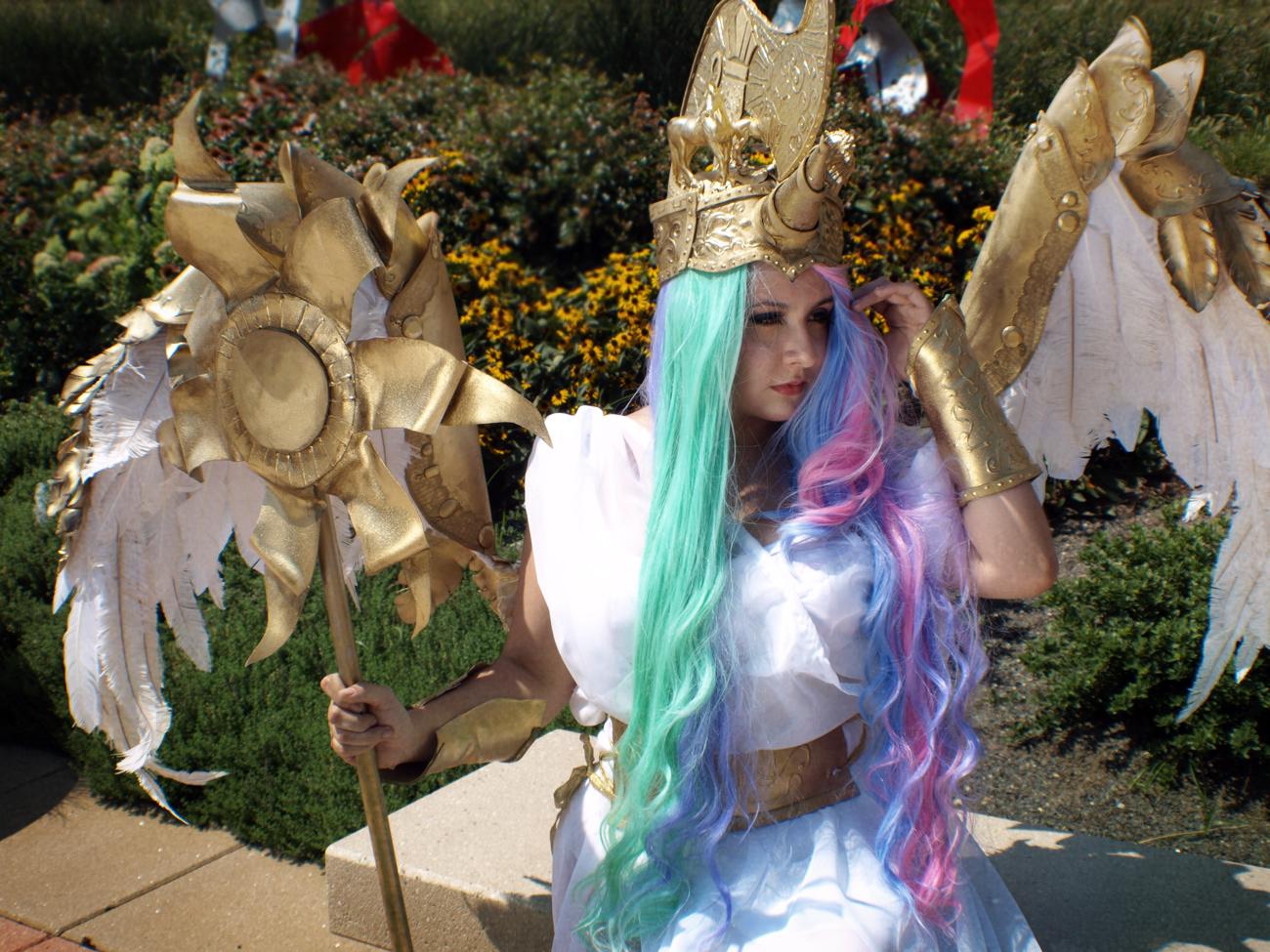 Princess Celestia IV by CookieKabuki