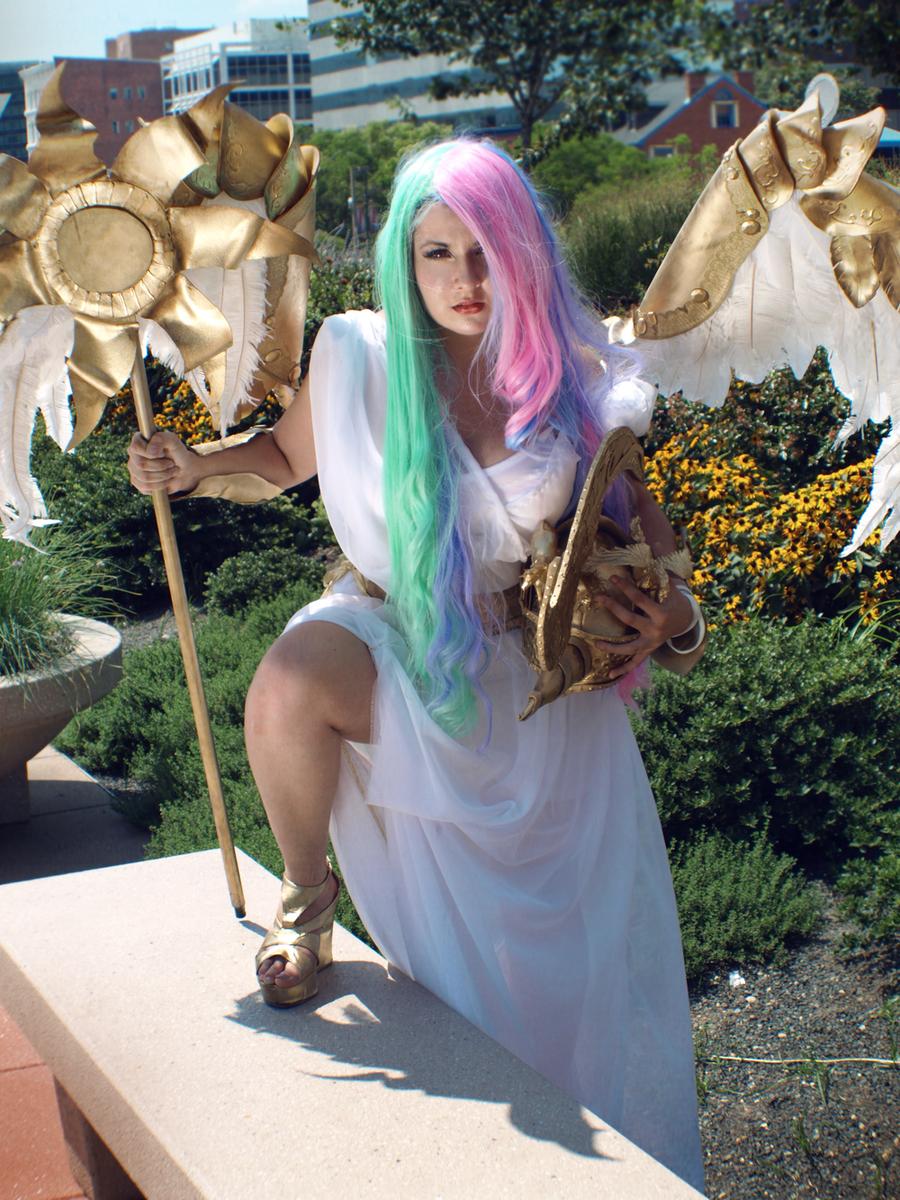 Princess Celestia V by CookieKabuki