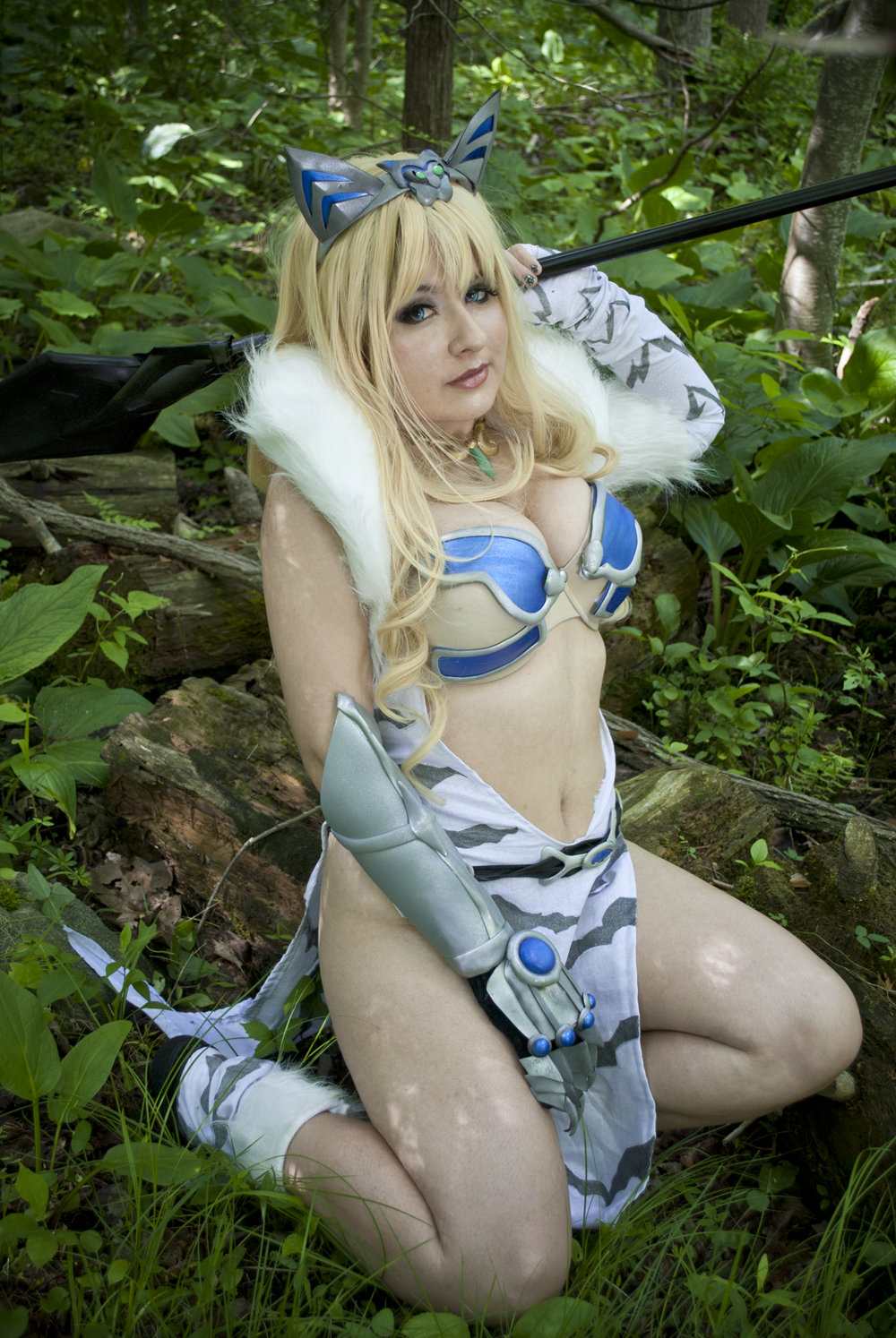 Queen's Blade: Elina II by CookieKabuki