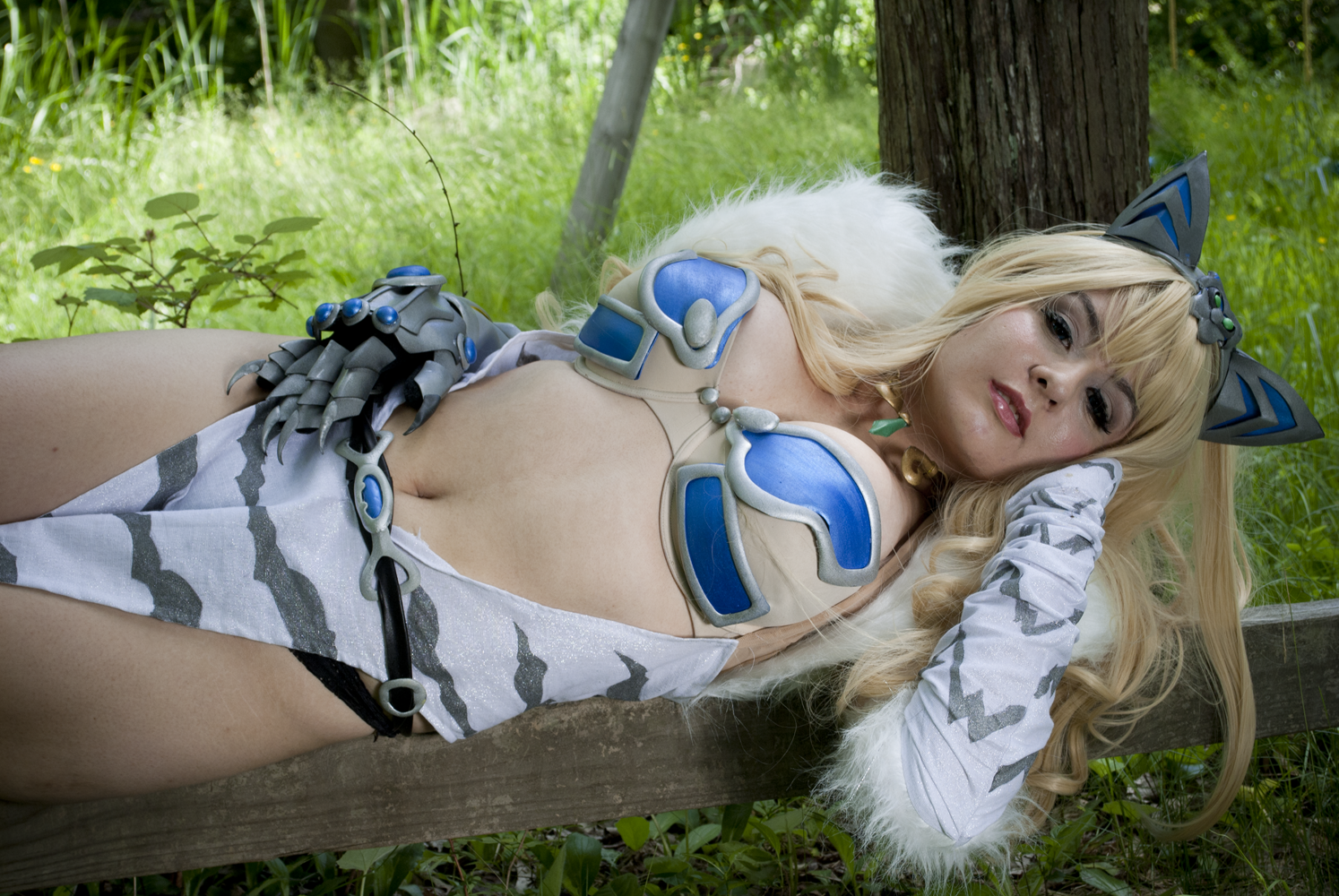 Queen's Blade: Elina IV by CookieKabuki