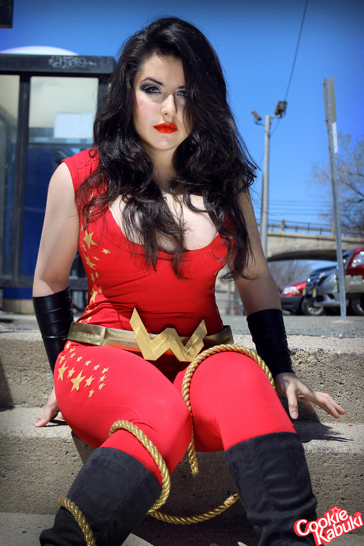 Donna Troy X by CookieKabuki