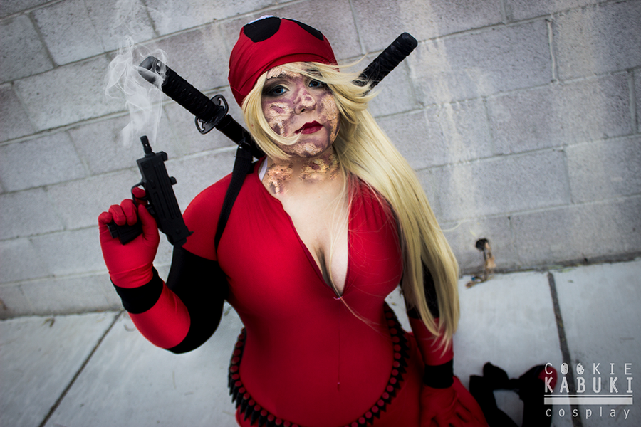 Deadpool: Wanda Wilson V by CookieKabuki