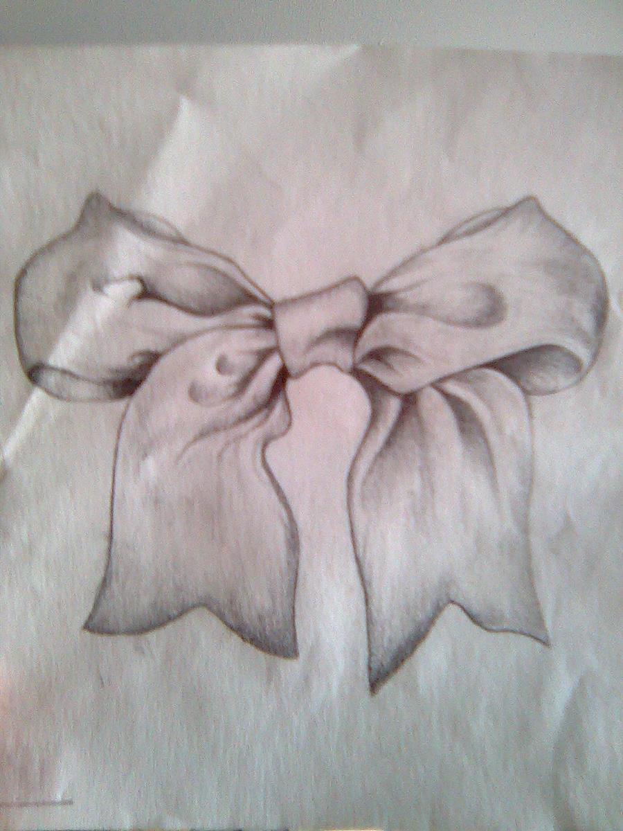 Ribbon Bow Tattoo Drawings