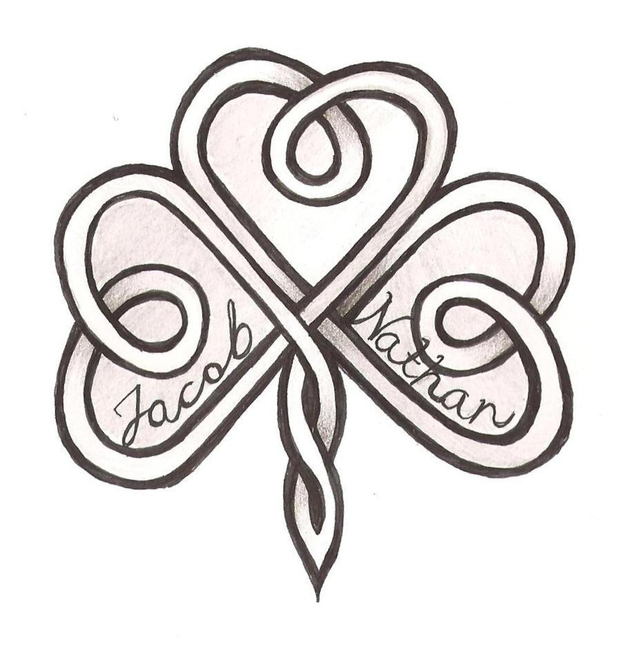 Celtic Shamrock Tattoos for Women