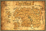 Ancient Map of Tamriel