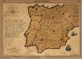 Iberian Peninsula in 1705 by AndrewScrolls